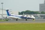 ⚓ほそっち⚓さんが、鹿児島空港で撮影したANAウイングス DHC-8-402Q Dash 8の航空フォト(写真)