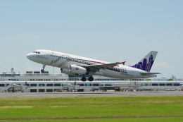 ⚓ほそっち⚓さんが、鹿児島空港で撮影した香港エクスプレス A320-232の航空フォト(飛行機 写真・画像)