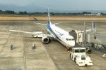 ⚓ほそっち⚓さんが、鹿児島空港で撮影した全日空 737-881の航空フォト(写真)