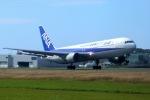 ⚓ほそっち⚓さんが、鹿児島空港で撮影した全日空 767-381の航空フォト(写真)