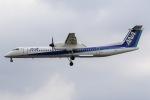 mototripさんが、福岡空港で撮影したANAウイングス DHC-8-402Q Dash 8の航空フォト(写真)