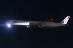 多摩川崎2Kさんが、羽田空港で撮影したカタール航空 A350-1041の航空フォト(写真)