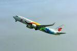 まいけるさんが、北京首都国際空港で撮影した中国国際航空 737-89Lの航空フォト(写真)