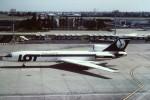 tassさんが、パリ オルリー空港で撮影したLOTポーランド航空 Tu-154Mの航空フォト(飛行機 写真・画像)
