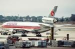 キイロイトリさんが、ロサンゼルス国際空港で撮影したハワイアン航空 DC-10-10の航空フォト(写真)