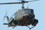 ゆずポン酢さんが、習志野演習場で撮影した陸上自衛隊 UH-1Jの航空フォト(写真)