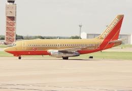 キイロイトリさんが、タルサ国際空港で撮影したサウスウェスト航空 737-2H4の航空フォト(飛行機 写真・画像)