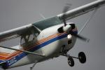 argusblueさんが、瀬峰飛行場で撮影した日本法人所有 172M Skyhawkの航空フォト(写真)