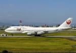 JA8589さんが、福岡空港で撮影した日本航空 747-446の航空フォト(写真)