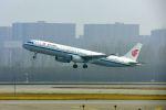 まいけるさんが、北京首都国際空港で撮影した中国国際航空 A321-232の航空フォト(写真)