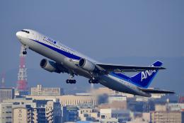 HISAHIさんが、福岡空港で撮影した全日空 767-381/ERの航空フォト(飛行機 写真・画像)