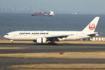 tomoMTさんが、羽田空港で撮影した日本航空 777-246の航空フォト(写真)