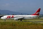 JA8589さんが、福岡空港で撮影したJALエクスプレス 737-446の航空フォト(写真)