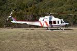 blue-r_k5さんが、大分県大分市 中尾ダムで撮影した西日本空輸 412EPの航空フォト(写真)