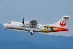 よっしぃさんが、鹿児島空港で撮影した日本エアコミューター ATR-42-600の航空フォト(写真)