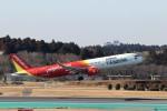 ハム太郎。さんが、成田国際空港で撮影したベトジェットエア A321-271Nの航空フォト(写真)