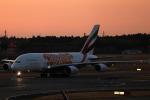 Wasawasa-isaoさんが、成田国際空港で撮影したエミレーツ航空 A380-861の航空フォト(写真)
