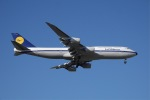 JG太郎さんが、北京首都国際空港で撮影したルフトハンザドイツ航空 747-830の航空フォト(写真)