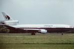 tassさんが、成田国際空港で撮影したマレーシア航空 DC-10-10の航空フォト(写真)