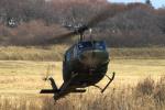 AkiChup0nさんが、習志野演習場で撮影した陸上自衛隊 UH-1Jの航空フォト(写真)