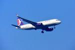 まいけるさんが、スワンナプーム国際空港で撮影したマカオ航空 A320-232の航空フォト(写真)