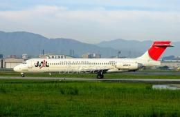 JA8589さんが、福岡空港で撮影した日本航空 MD-87 (DC-9-87)の航空フォト(飛行機 写真・画像)