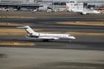 スポット110さんが、羽田空港で撮影したネットジェット・インターナショナル BD-700-1A10 Global Expressの航空フォト(写真)