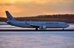 バーダーさんが、新千歳空港で撮影した大韓航空 737-9B5/ER の航空フォト(写真)