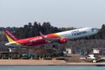 ぎんじろーさんが、成田国際空港で撮影したベトジェットエア A321-271Nの航空フォト(写真)