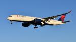 saoya_saodakeさんが、成田国際空港で撮影したデルタ航空 A350-941XWBの航空フォト(写真)