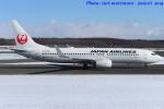いおりさんが、新千歳空港で撮影した日本航空 737-846の航空フォト(写真)
