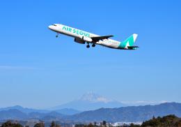 mojioさんが、静岡空港で撮影したエアソウル A321-231の航空フォト(写真)