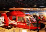 チャーリーマイクさんが、消防博物館で撮影した東京消防庁航空隊 SA365N Dauphin 2の航空フォト(写真)