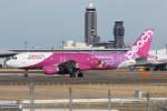 プルシアンブルーさんが、成田国際空港で撮影したピーチ A320-214の航空フォト(写真)