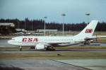 tassさんが、シンガポール・チャンギ国際空港で撮影したチェコ航空 A310-304の航空フォト(写真)