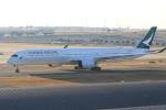 rokko2000さんが、関西国際空港で撮影したキャセイパシフィック航空 A350-1041の航空フォト(写真)