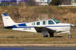 Chofu Spotter Ariaさんが、ホンダエアポートで撮影した日本個人所有 A36TC Bonanzaの航空フォト(飛行機 写真・画像)