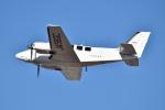 Tango-4さんが、高知空港で撮影した朝日航空 G58 Baronの航空フォト(写真)