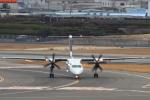 non-nonさんが、伊丹空港で撮影したANAウイングス DHC-8-402Q Dash 8の航空フォト(写真)