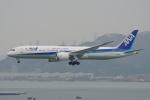 神宮寺ももさんが、香港国際空港で撮影した全日空 787-9の航空フォト(写真)