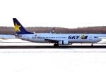 バーダーさんが、新千歳空港で撮影したスカイマーク 737-86Nの航空フォト(写真)