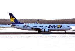 バーダーさんが、新千歳空港で撮影したスカイマーク 737-86Nの航空フォト(飛行機 写真・画像)