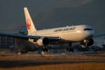 KAIHOさんが、徳島空港で撮影した日本航空 767-346の航空フォト(写真)