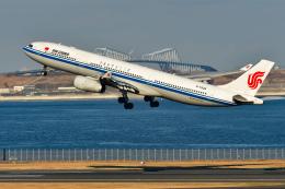 sshzeさんが、羽田空港で撮影した中国国際航空 A330-343Xの航空フォト(写真)