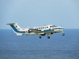おっつんさんが、新石垣空港で撮影した海上保安庁 B300の航空フォト(写真)