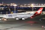 mitsuru1さんが、羽田空港で撮影したカンタス航空 747-438/ERの航空フォト(写真)