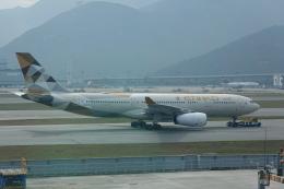 pringlesさんが、香港国際空港で撮影したエティハド航空 A330-243の航空フォト(飛行機 写真・画像)