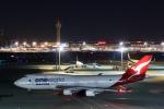らむえあたーびんさんが、羽田空港で撮影したカンタス航空 747-438/ERの航空フォト(写真)