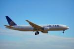 ちゃぽんさんが、成田国際空港で撮影したユナイテッド航空 777-222の航空フォト(写真)