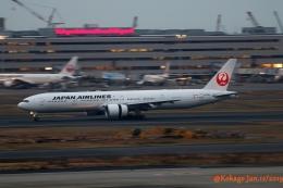 湖景さんが、羽田空港で撮影した日本航空 777-346/ERの航空フォト(飛行機 写真・画像)